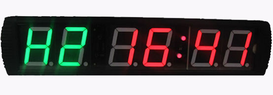 Large LED Countdown Stopwatch Clock