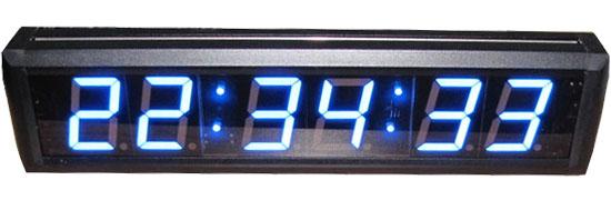 Led Countup Countdown Led Digital Clock Crossfit Timer