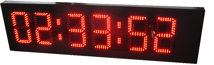 large sports clocks double sided led clocklarge led